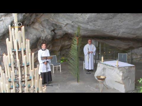 Chapelet à Lourdes du 6 avril 2020