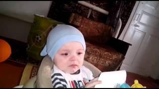 Мой маленький, сладкий племяш)))