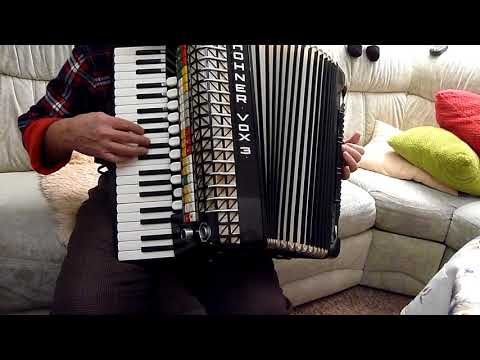 Akkordeon Hohner VOX 3, Pianoakkordeon