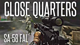 CLOSE QUARTERS SA-58 FAL (7 PMC Kills / Interchange) - Escape From Tarkov