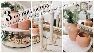 DIY DOLLAR TREE | DOLLAR MAGNOLIA INSPIRED HOME DECOR