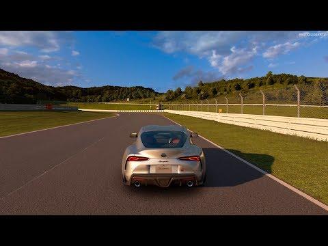 Gran Turismo Sport - 2019 Toyota GR Supra RZ Gameplay [4K PS4 Pro]