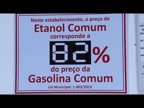 Postos de Cantagalo passam a mostrar percentual de diferença entre etanol e gasolina