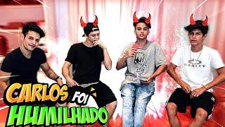 CARLOS FOI HUMILHADO NESSE VÍDEO ! #AskOwned2