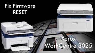 Fix firmware reset Xerox Phaser 3020 resoftare / resetare