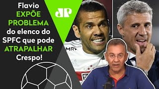 Flavio Prado expõe problema do São Paulo que pode atrapalhar Crespo