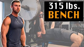 How To Bench Press 315 lbs. | The 3 Tips That Helped Me Most (Mock Meet 2019)