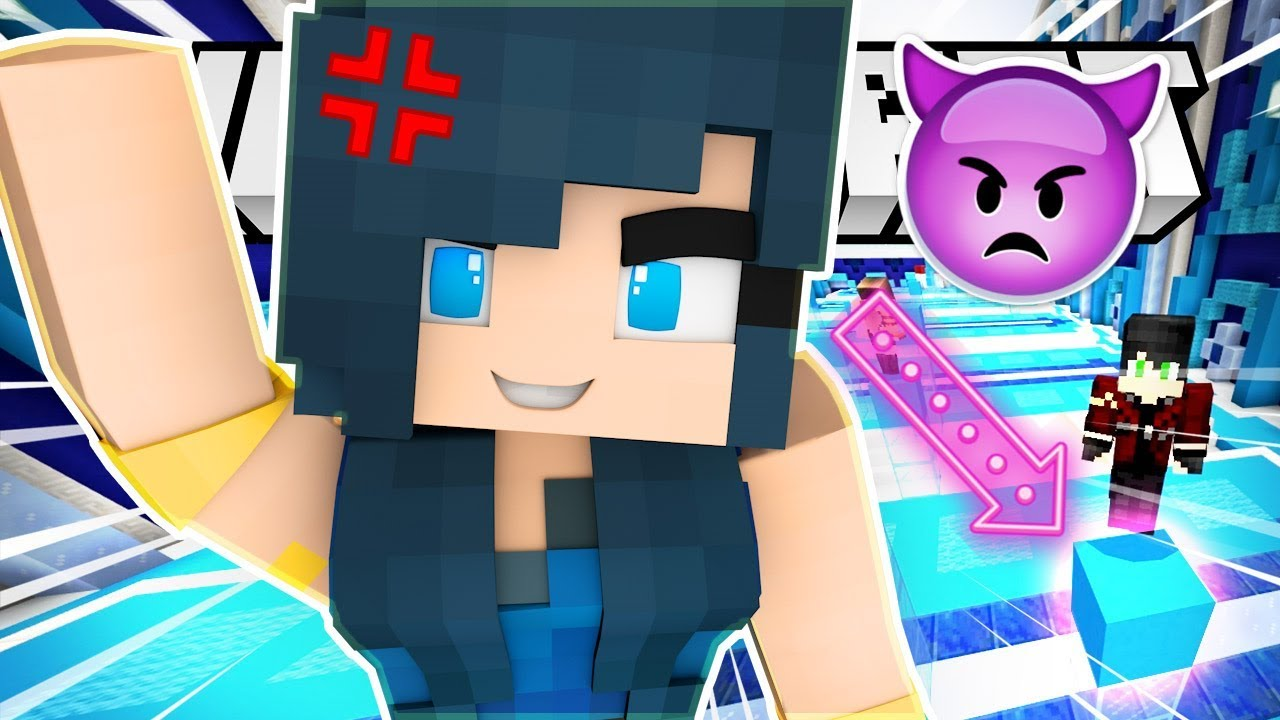 MINECRAFT TROLL PARKOUR CHALLENGE! OOF! - YouTube