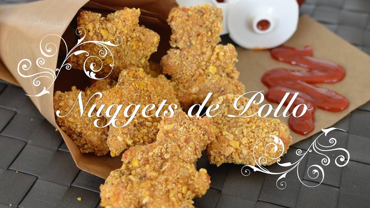 Nuggets de Pollo con Rebozado Crujiente | Como hacer Nuggets de Pollo | Nuggets de Pollo Thermomix