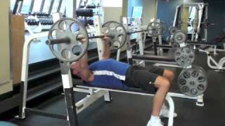 Calgary Fitness Tutorial - Negative Benches