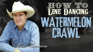How to dance WATERMELON CRAWL 32 Counts Beginner Country Line Dance Video Lesson