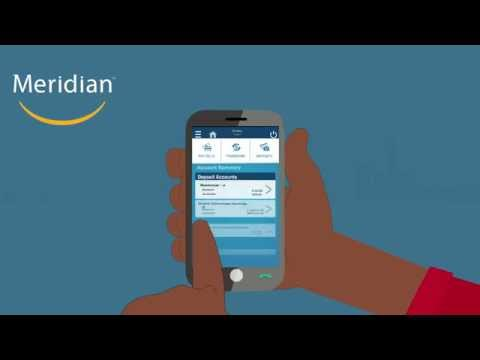 Video of Meridian Mobile Banking