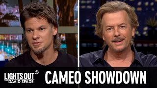 The Panelists Play Cameo Showdown (feat. Theo Von) - Lights Out with David Spade