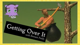 CGG | Getting Over It (Part 1) | RAGE! Then we talk about RAGE!