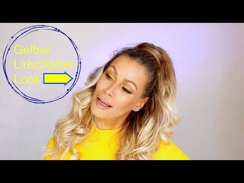 Gelber Lidschatten Look | Yellow Eyeshadow