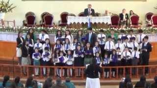 preview picture of video 'IEP Coronel Coro Niños (Oh Santa Noche) -29 11 2014'