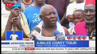 Coast to host Jubilee tomorrow as President Uhuru issues land titles