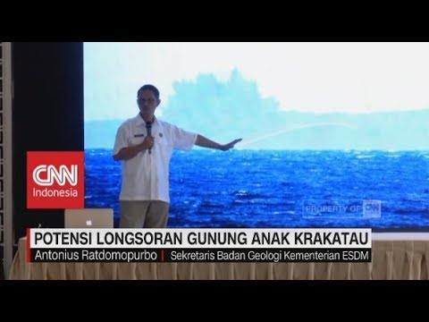Potensi Longsoran Gunung Anak Krakatau