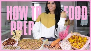 HOW TO FOOD PREP!! HEALTHY PROTEIN GRANOLA, HEALTHY CARBS AND MORE! MEAL PREP IDEAS