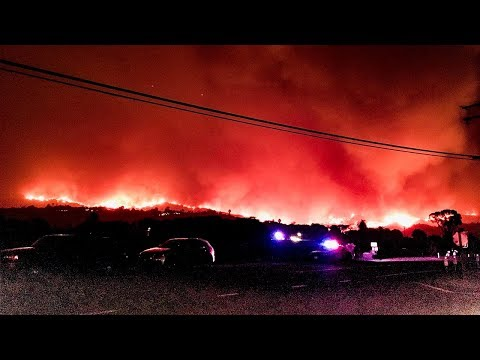 LIVE: NewsChannel 3 extended Thomas Fire Coverage with Closed Captioning