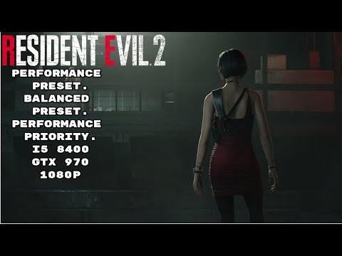Resident Evil 2 Remake - GTX 970 Performance Check