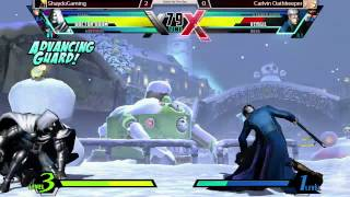 preview picture of video 'Carlvin Oathkeeper vs Shaydo  - Battle By The Bay 1 UMVC3'
