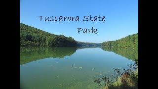 Hiking around Tuscarora State Park