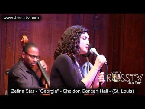 "Performing  ""Georgia"" at the Sheldon Concert Hall in St. Louis. What a beautiful venue and such a classic song still full of soul today."
