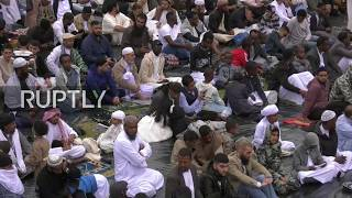 LIVE: Tens of thousands expected to gather in Birmingham for Eid al-Fitr