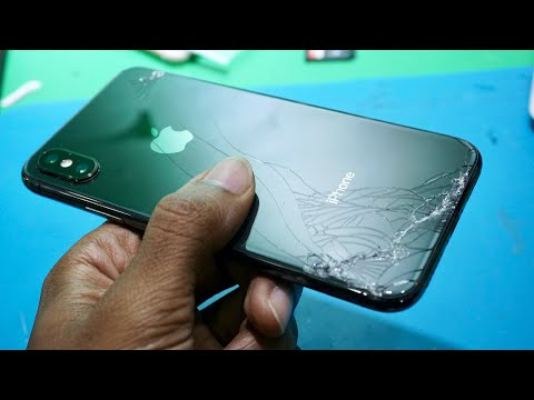 iPhone X replacement back glass [First Time]