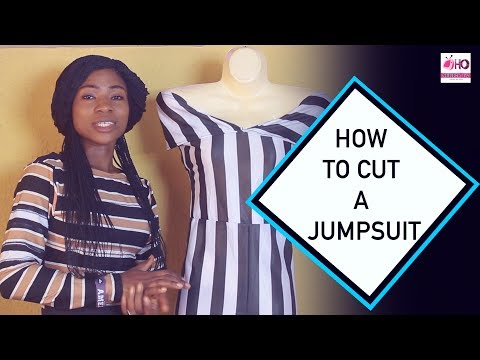 How To Cut Jump Suit