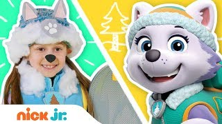 Costume Party! Ep. 5 ???? w/ PAW Patrol, Blaze & Bubble Guppies | Costume Party | Nick Jr.