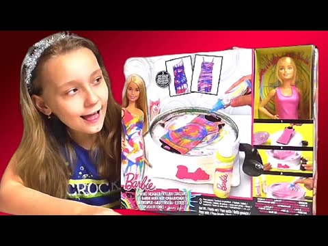 Распаковка Barbie Moda Mix