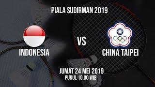 Sedang Berlangsung, Perempat Final Piala Sudirman 2019, Indonesia Vs China Taipei, Jumat (24/5)