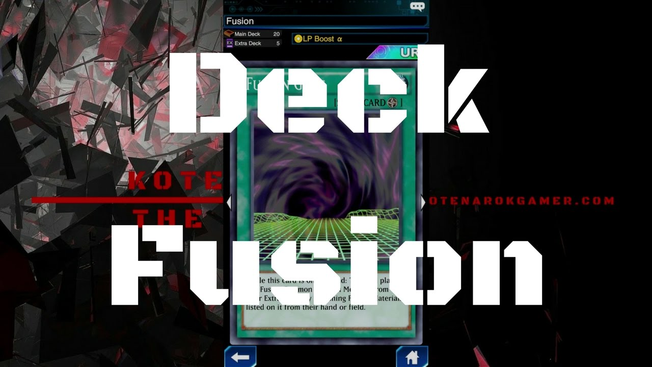 [Deck] Fusion (High Level) - ฟิวววววววววชั่นนนนนนนน