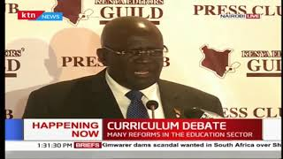 Kenya Editors guild hosts CS Magoha as they engage on curriculum debate