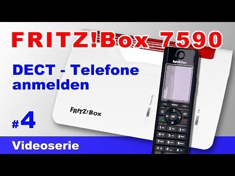 FRITZ!Fon C5 C4 DECT Telefon sowie Siemens Gigaset an die FRITZ!Box 7590 anmelden und einrichten #4