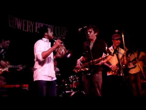 The Kickdown live @ First Fridays @ Bowery Poetry Club