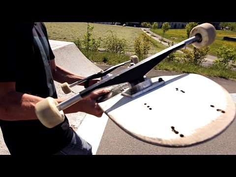 EVEN WIDER WIDEST TRUCKS EVER  – Skateboard Challenge