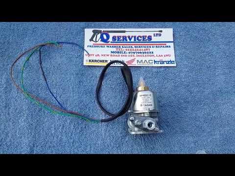 PRESSURE WASHER WESLEY NOVA KARCHER ELECTRIC FUEL PUMP TAISAN 240 VOLT MP48SC-S