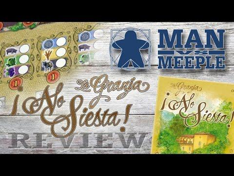 La Granja: No Siesta Review by Man Vs Meeple
