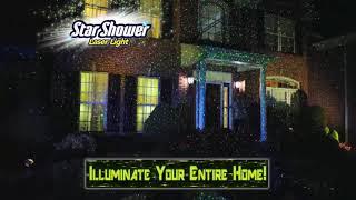 Star Shower Лазерный проектор Звездный Дождь +Star Master в ПОДАРОК! от компании Телемагазин - видео