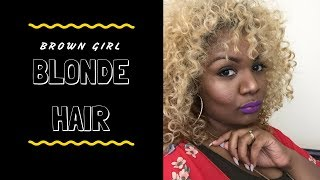 WIG REVIEW | ZURY PHIA BLONDE WIG REVIEW