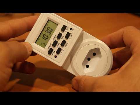 Timer Temporizador Digital Tomada Energia Bivolt 2200w Ac42