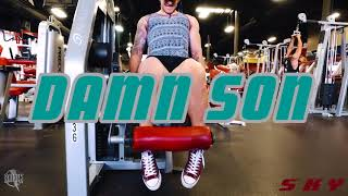 Sky Romero Leg Workout Session