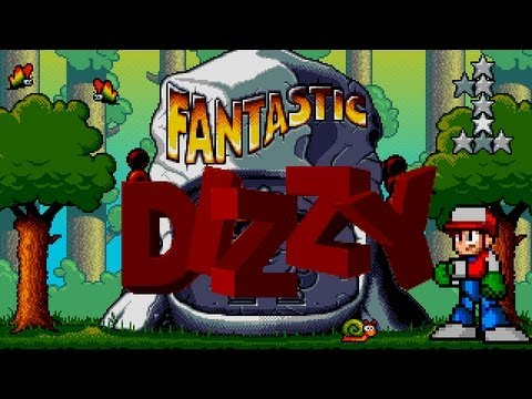 Let's Play Fantastic Dizzy!  #01: Getting Key'd Off