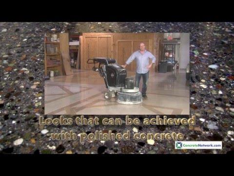 Decorative Ideas for Polished Concrete Floors