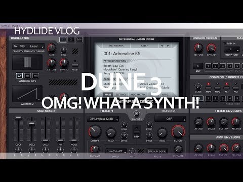 Dune 3 from Synapse Audio - Ableton Live 10