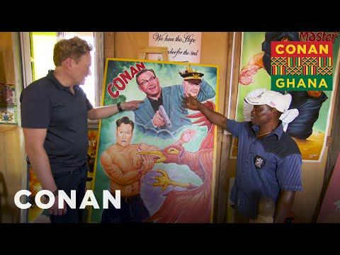 Conan v Ghaně #5: Filmové plakáty a hudební klip - CONAN