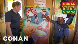 Conan Brings His Ghanaian Movie Poster To Life - CONAN On TBS